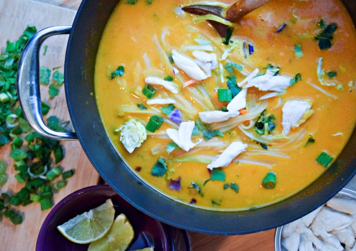 Thai Carrot Crab Noodle Soup is a powerhouse of nutrition -- feel free ...