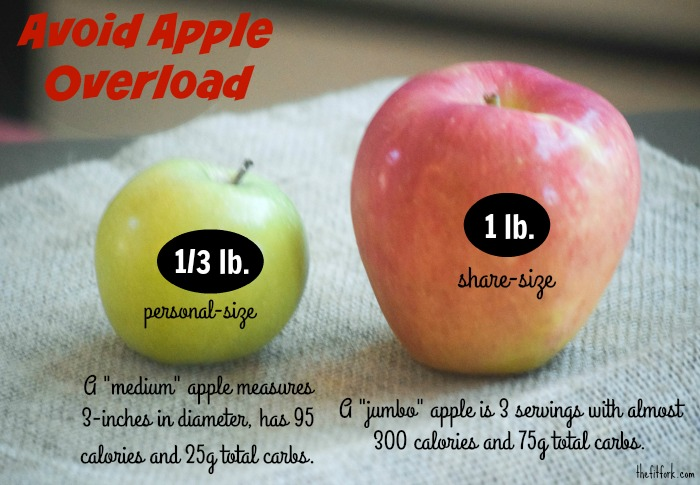 Avoid Apple Overload -- so just what IS considered a healthy serving of apple?