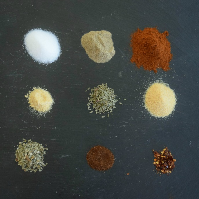 Spices for Creole Seasoning