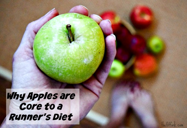 Why Apples are Core to a Runner's Diet - find out the health benefits and how they can improve your training.