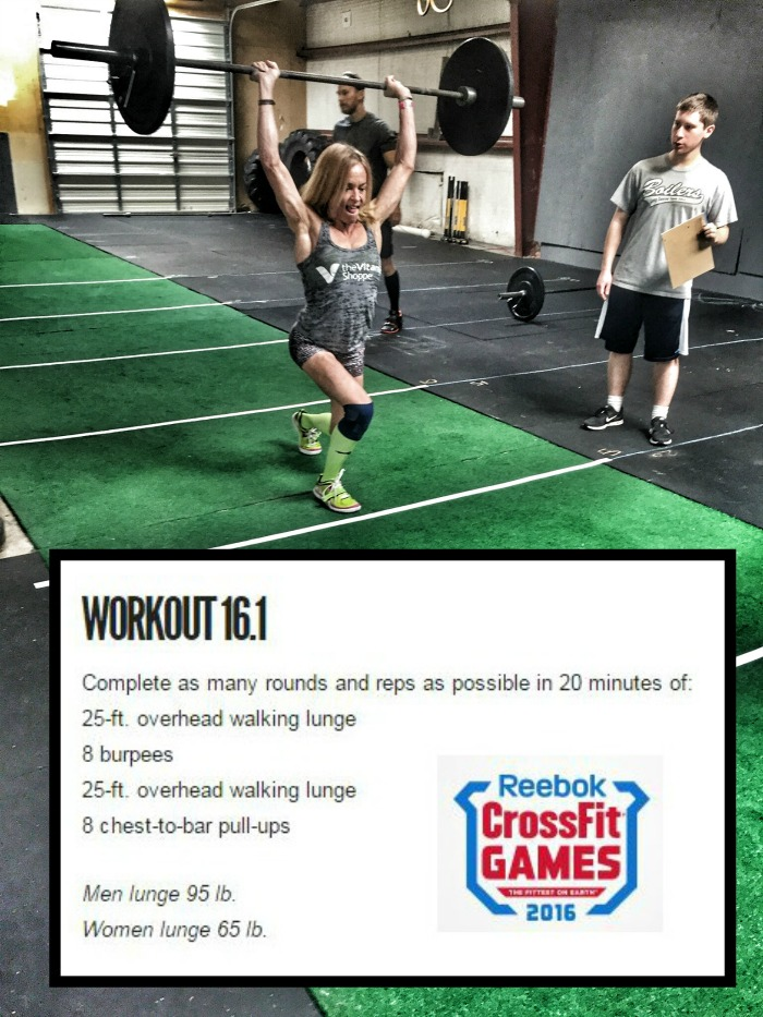 CrossFit Games Open 16.1 Workout - thefitfork.com