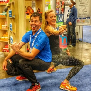 Kevin - CEO of Nuun and Jennifer Fisher of TheFitFork.com