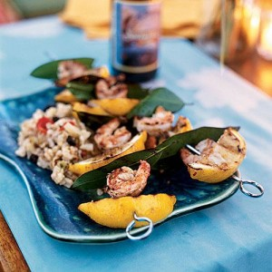 Lemon Grilled Bay Shrimp are sure to add some zest to any meal!