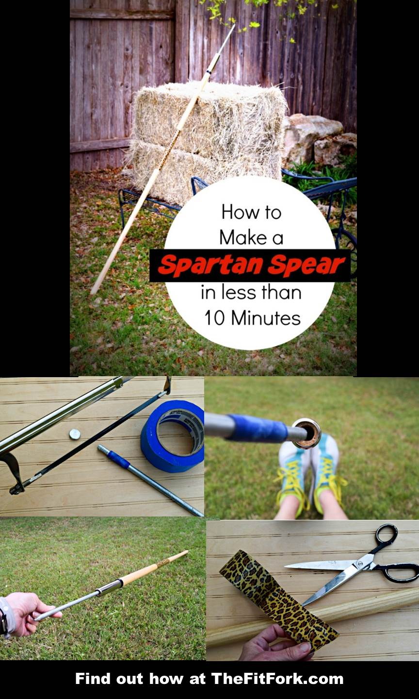 How to Make a Spartan Spear in less than 10 Minutes and under 10 Dollars