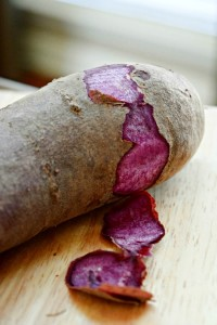 Purple Potato Peel