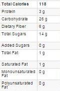 detox smoothie nutrition