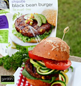 Chipotle Black Bean Burger