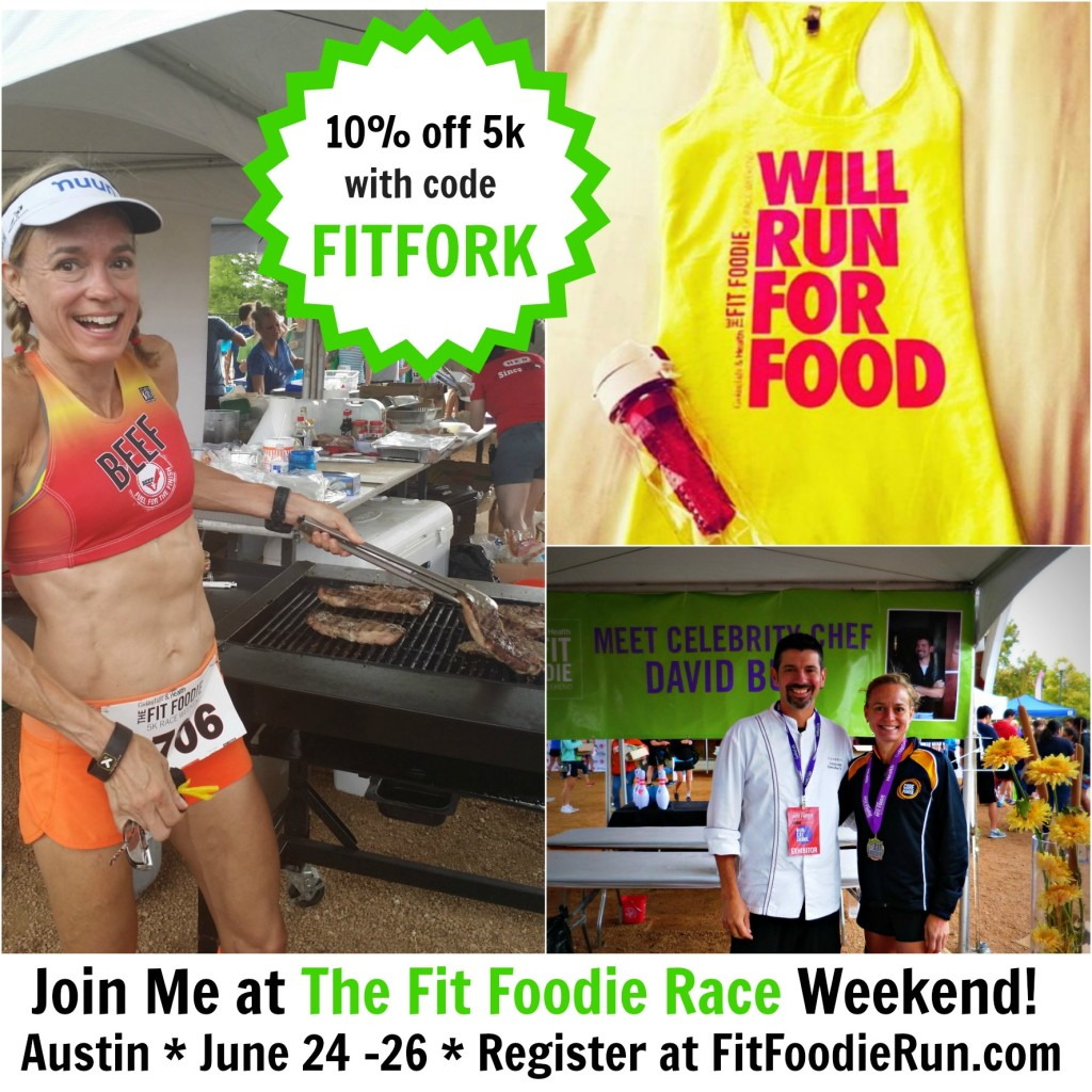 The Fit Foode 5k and Race Weekend in Austin, TX