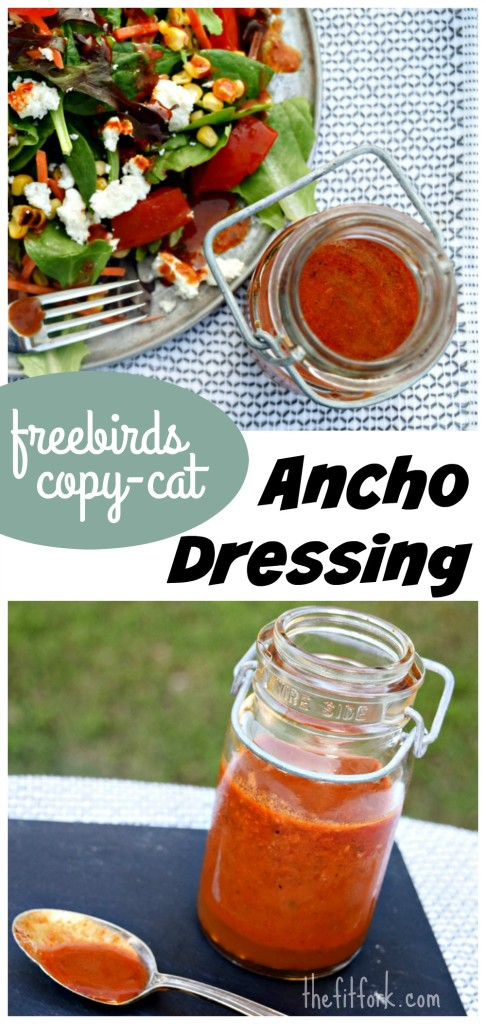 Freebirds Copy Cat Ancho Salad Dressing