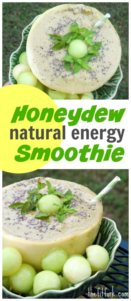 Honeydew Natural Energy Smoothie features maca, quinoa, green tea and Rhodiola rosea to offer truly balanced and uniquely simple energy support.