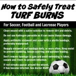 How to Treat Sports Turf Burns + #YourSecretWeapon for Prevention
