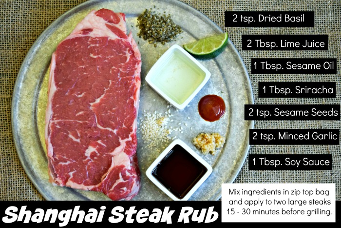 Shanghai Steak Rub