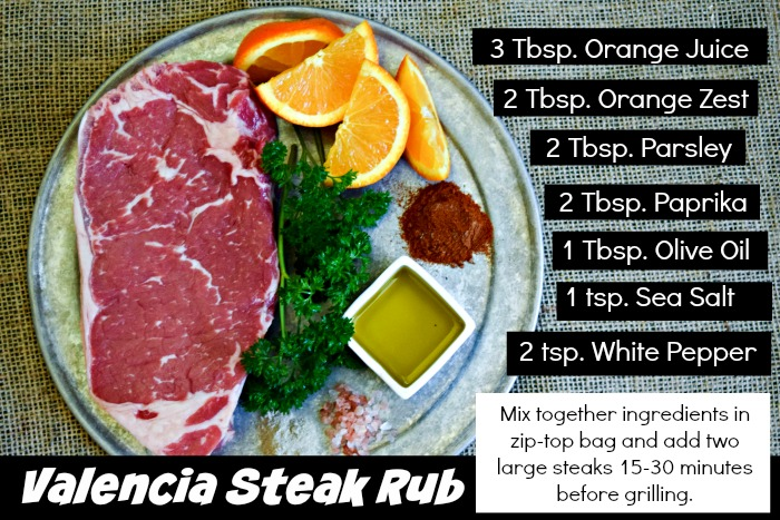 Valencia Steak Rub