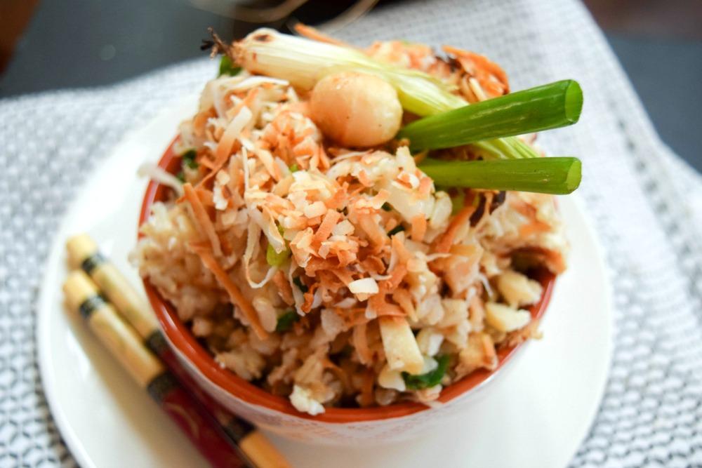 Coconut Macadamia Nut Fried Rice