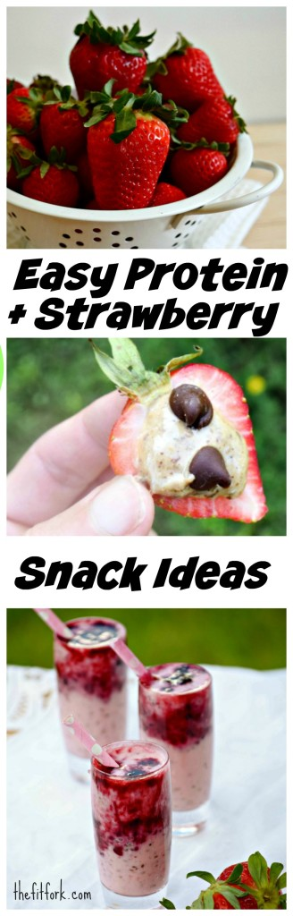 Easy Protein and Strawberry Snack Ideas