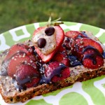 Strawberry Peanut Butter Toast makes a nourishing, sustaining snack.