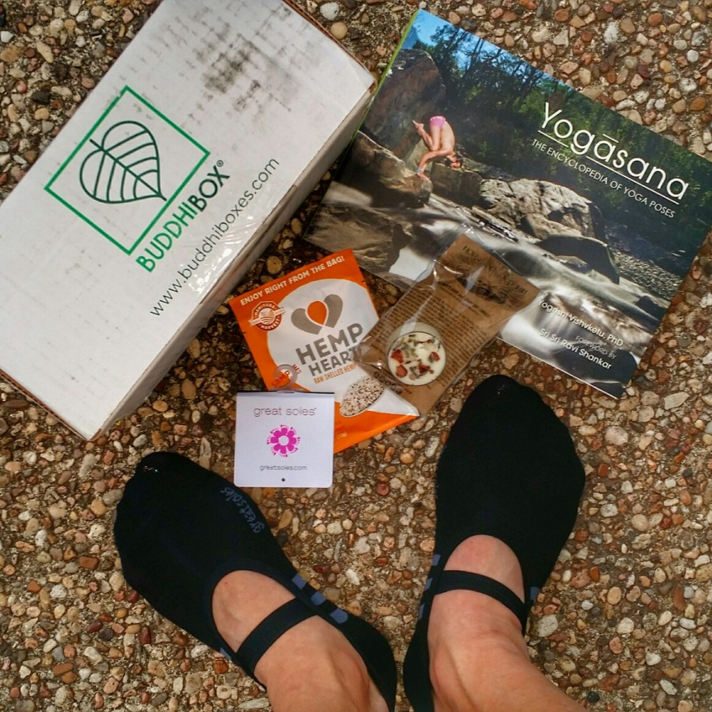 Buddi Box is a specially curated monthly subscription box for the yoga enthusiast.