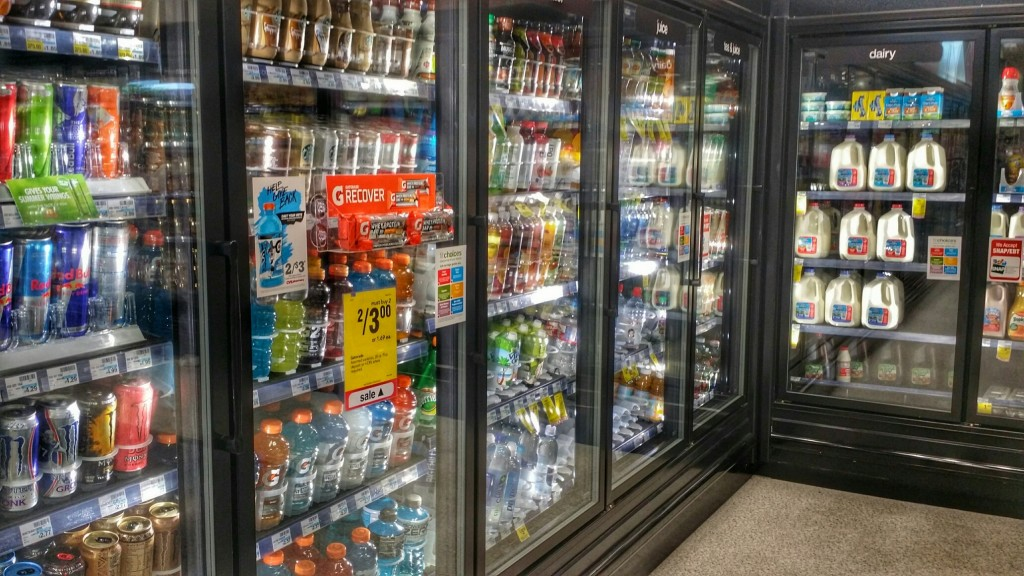 Find your hydration option at CVS in the refrigerated beverage section!