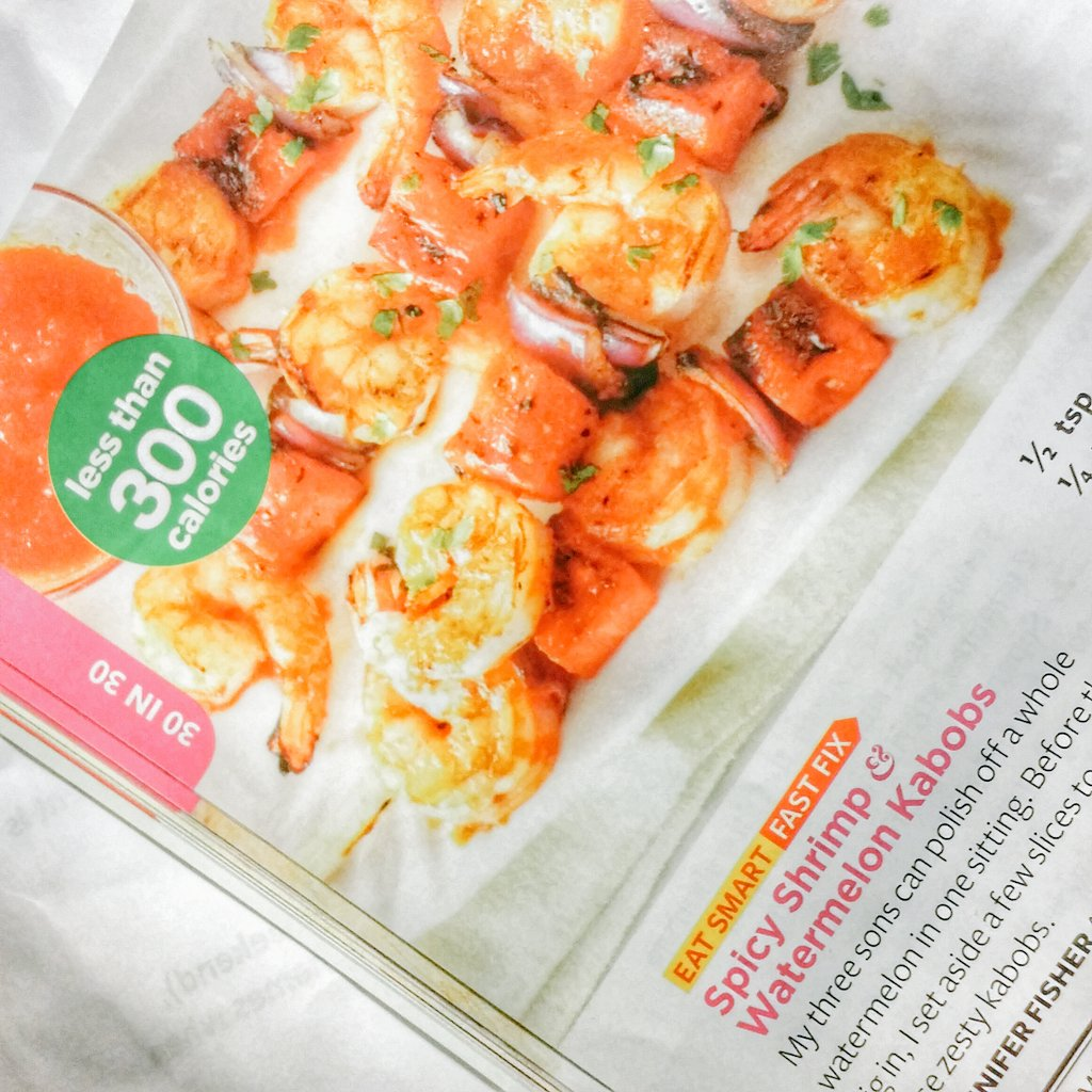 spicy shrimp and watermelon simple delicious magazine