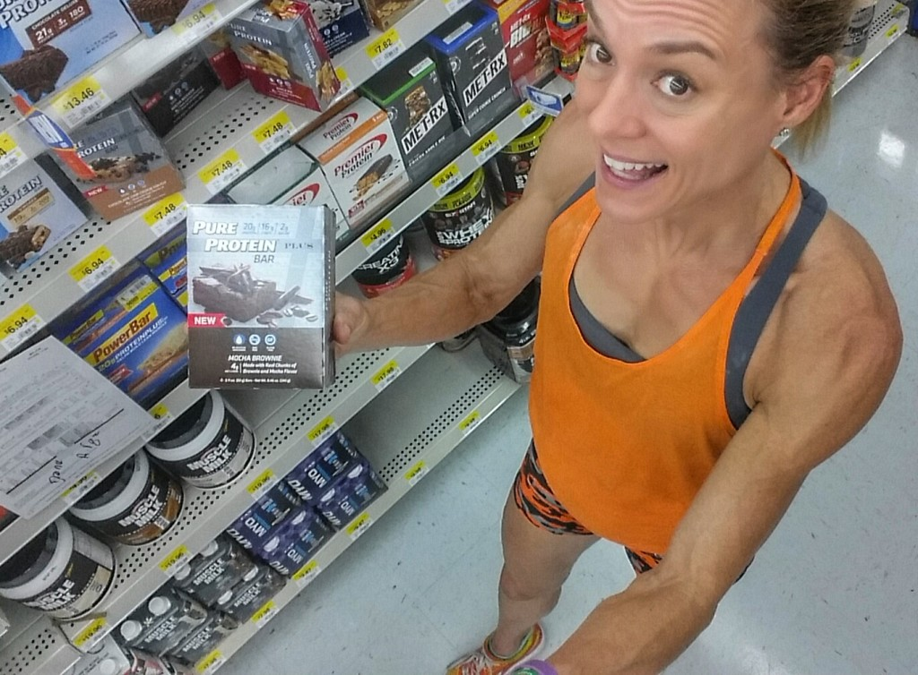 You can find these bars at Walmart on the nutrition aisle near the Pharmacy!