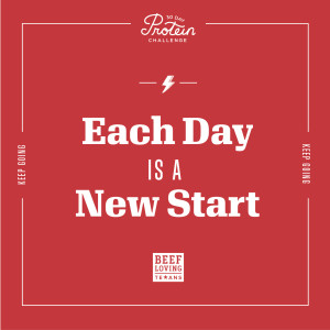 Each Day is a New Start!