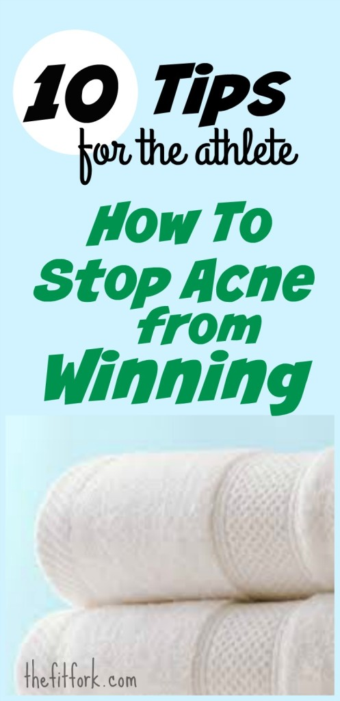 10 Tips for the Athlete - How to Stop Exercise Acne from Wnning
