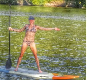 thefitfork jennifer fisher paddle board
