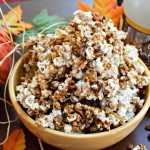 Maple Pumpkin Pecan Popcorn
