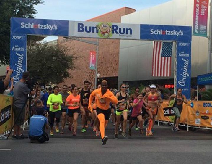 schlotskys bun run 2015 start line