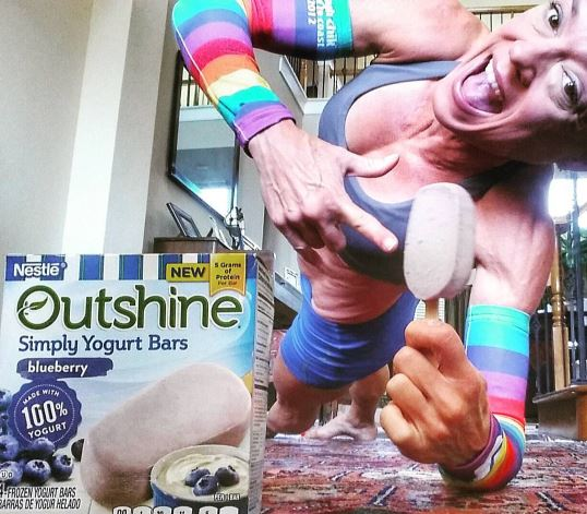 Outshine Simply Yogurt Bars perfect post workout.