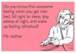 sleep funny