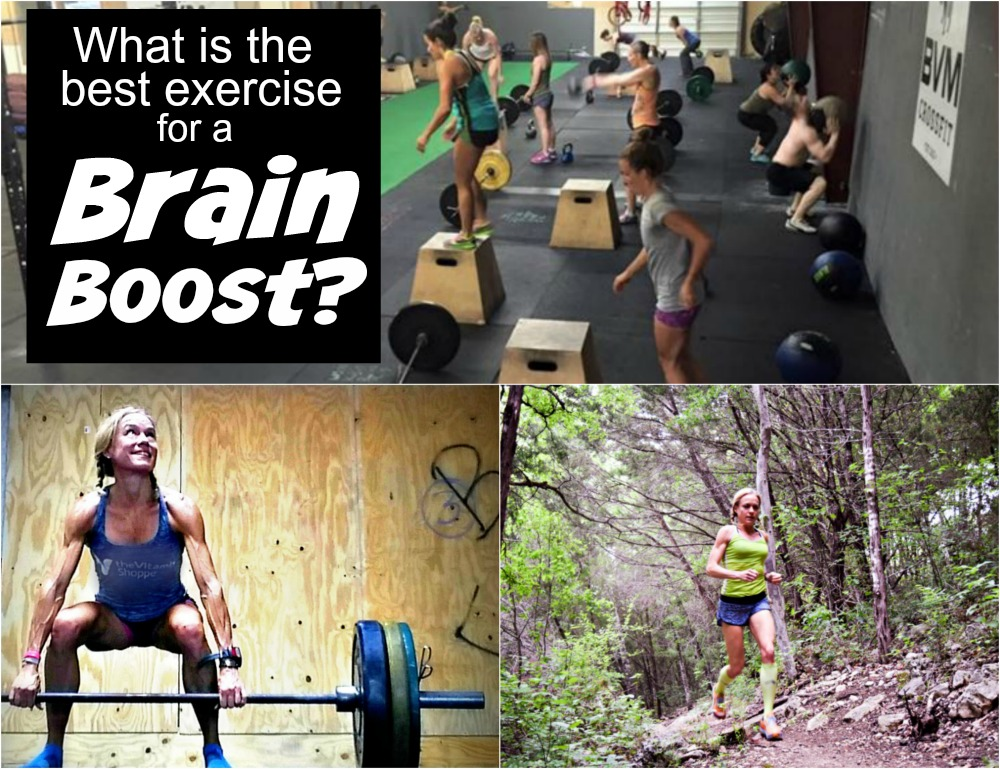 Find out the best form of exercise for a brain boost. Yes, some workouts can make you not on stronger, but smarter!