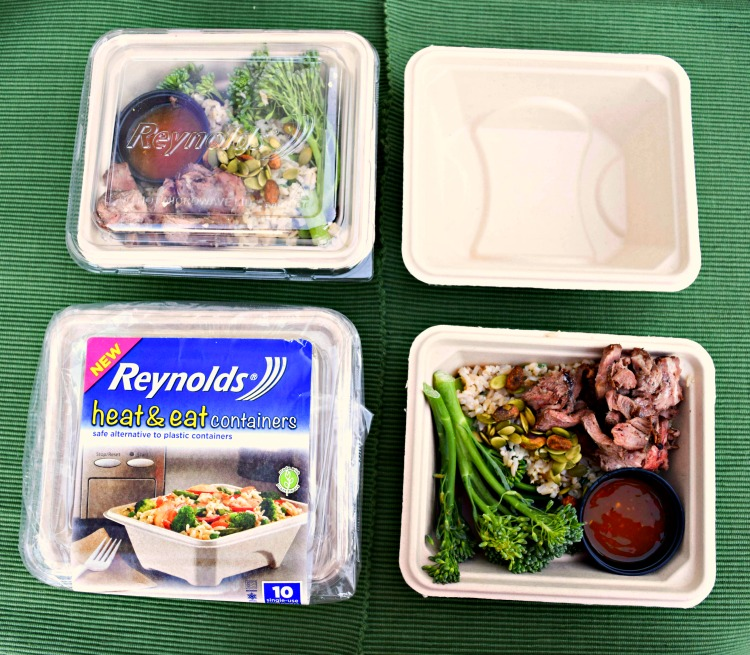 Reynolds Heat and EAt disposable containers