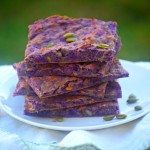 Nutty Purple Sweet Potato Flatbread is gluten-free, grain-free and dairy-free.