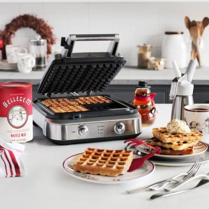 This Breville Waffle Iron is the best!