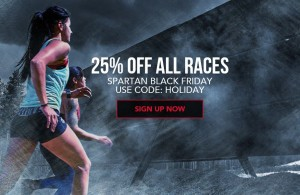 Spartan Race Holiday Sale