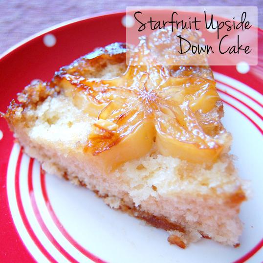 Starfruit Upside Down Cake from Friedas.com
