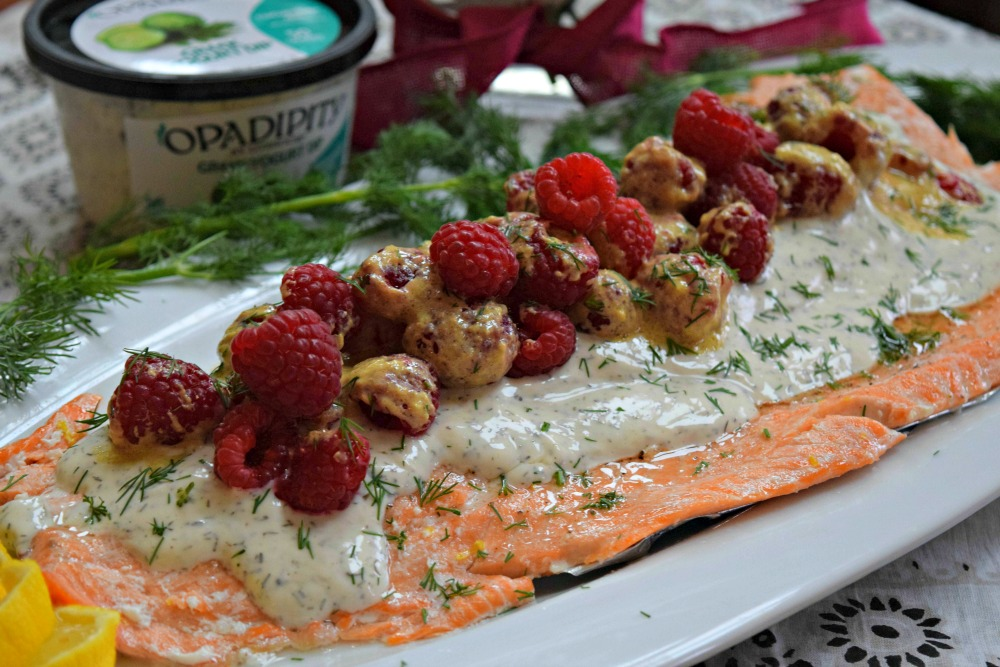 Raspberry Dill Salmon Horiz