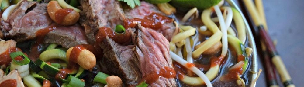 Beef Zoodle Pho single serve