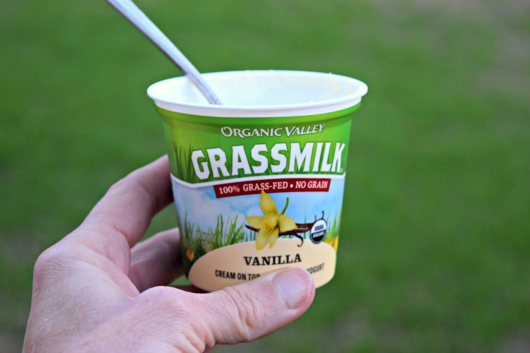 grassmilk yogurt organic valley thefitfork.com