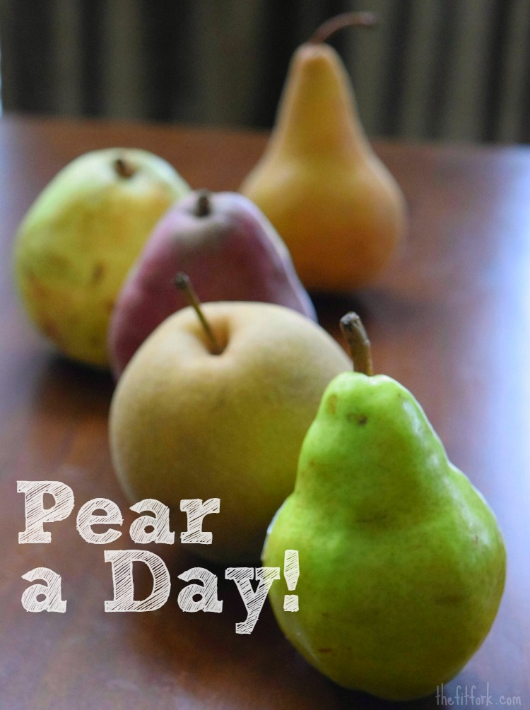 Pear a Day! Why you should eat pairs as part of a healthy diet