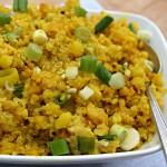 Lemony Turmeric Cauliflower-Quinoa