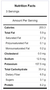 turmeric cauliflower nutrition