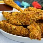 Baked Turmeric Almond Chicken Tenders