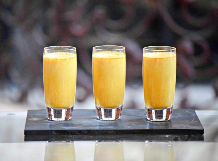 Turmeric Honey Almond Milk Shots