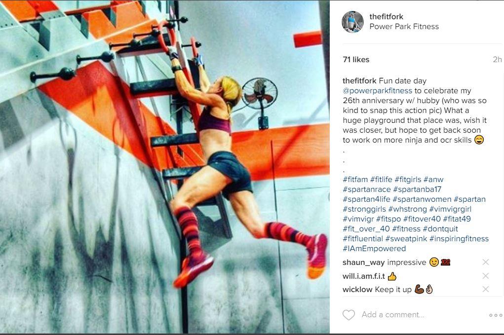 power park fitness instagram