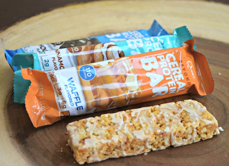 quest cereal bars package and unwrap