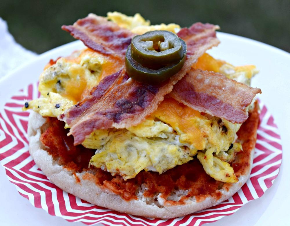 Egg Bacon English Muffin