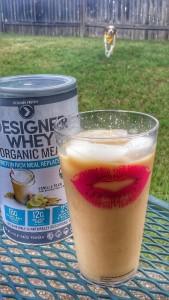 designer whey organic meal