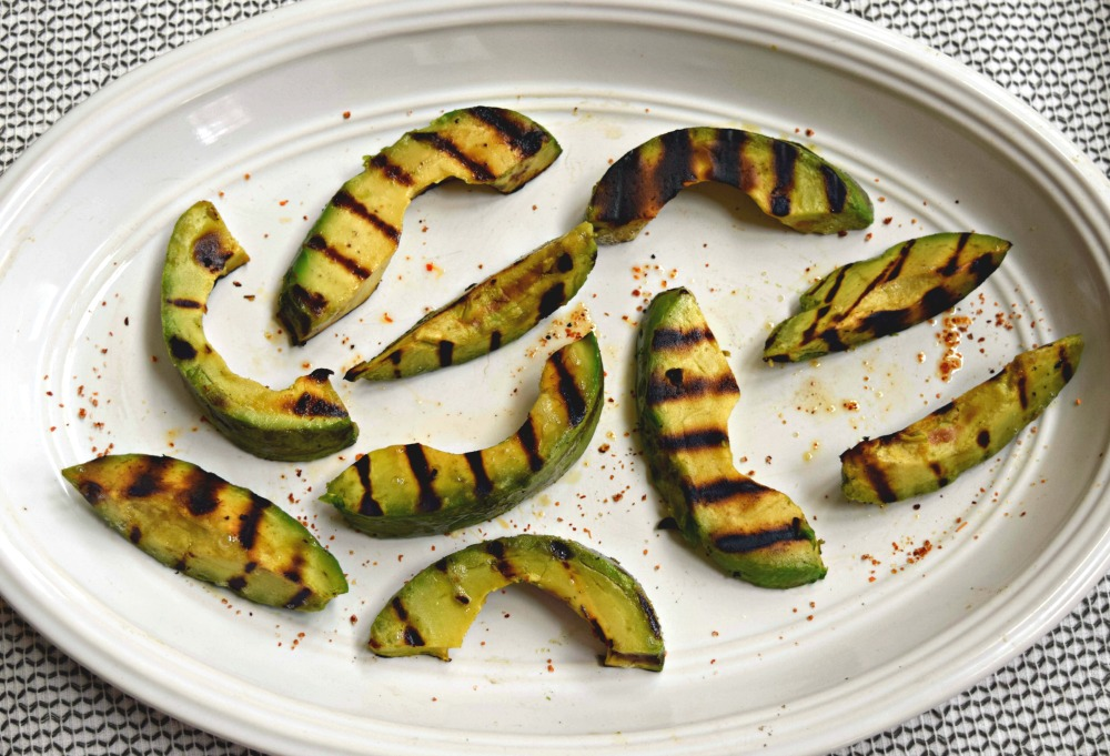 Grilled Avocado Slices